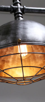 Vintage loodgieterslamp