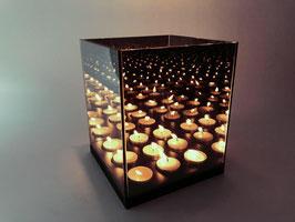 9 lichts waxinelichthouder