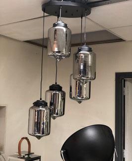 Hanglamp Evy 5 licht bulbs