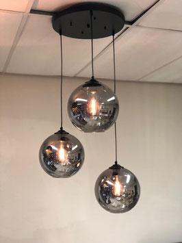 Hanglamp Evy 3 licht bulbs rond bollen