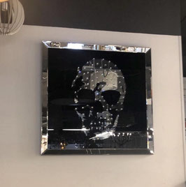 Skull spiegel