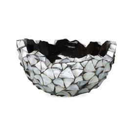 Schelpenvaas Bowl zilver medium