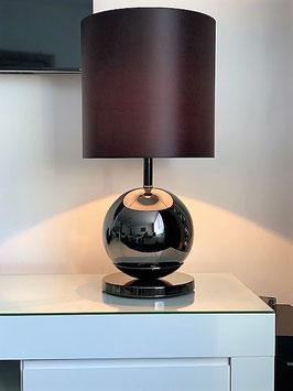 Roma black chrome tafellamp
