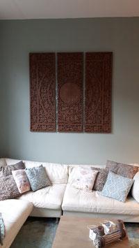 Rajput wandpaneel bruin