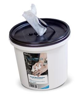 Handwaschtücher mit Aktiv-Sauerstoff