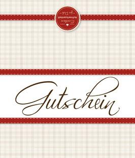 Wertgutschein - Metzgerei