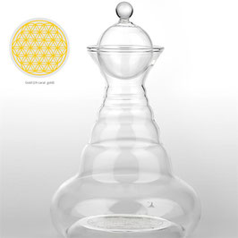 Carafe Vital Water Golden Alladin or 24 carats -- 1300 ml