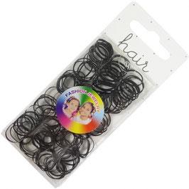 Elastische elastieken 1,5 cm zwart