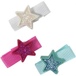 Baby/peuter haarspeldjes met ster