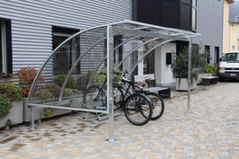 Fahrradüberdachung Modell Standard Basic