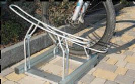 Fahrrad Halter Mod. H2324 Bodenmontage