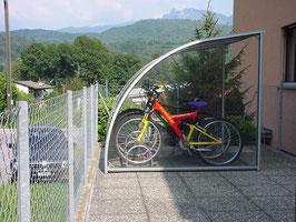 Fahrradüberdachung Modell Casa 2000 - CICLOPARK HOME