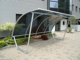 Fahrradüberdachung Modell Basic Tubo  - CICLOPARK CITY