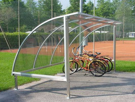 Fahrradüberdachung Modell Standard