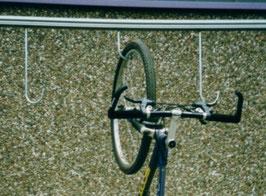 Fahrradhalter Modell I/ B zum Aufhängen Wandmontage
