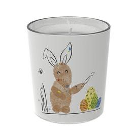 """Osterkerzen Glas Rita - """"der Künstlerische"""""""