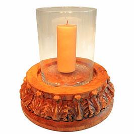 Kerzenständer CHAN 7 mit Glaszylinder
