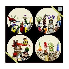"""Trend Plate """"Forest Festivities"""" - Porzellantellerset"""