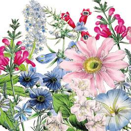 "Serviettenset ""Floriculture"", große Papierservietten"