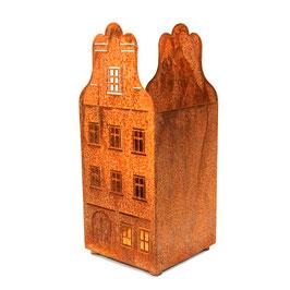 """Eisenzeit """"Windlicht großes Haus"""""""