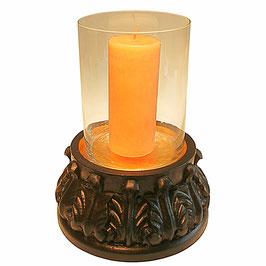Kerzenständer CHAN 3 mit Glaszylinder