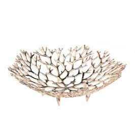 Coral round M poliert - Zinnschale von LOYFAR - die perfekte Geschenkidee