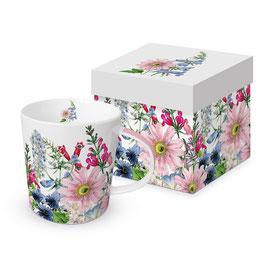 """Trend Mug und Geschenkebox """"Floriculture"""""""
