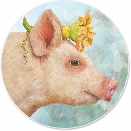"""Appetizer Plate """"Blossom"""", Teller aus Porzellan"""