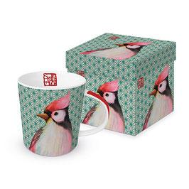 """Trend Mug und Geschenkebox """"Oiseau Japonais"""""""