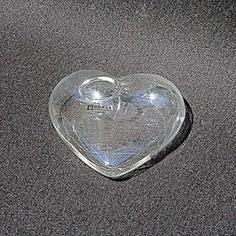 Glasvase Herz liegend - von Serax