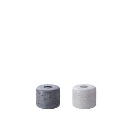 Stabkerzenhalter LENA klein, in grau oder anthrazit, von Engels Kerzen