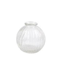 """Mini Vase """"Round"""" - klares Glas - von Miljögarden"""