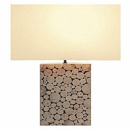 Tischleuchte Mosaik Groß natural