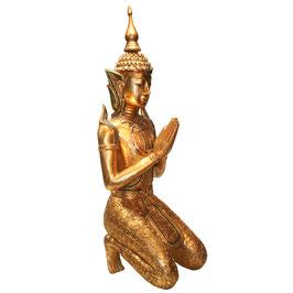 Großer Teppanom - thailändischer Tempelwächter in gold