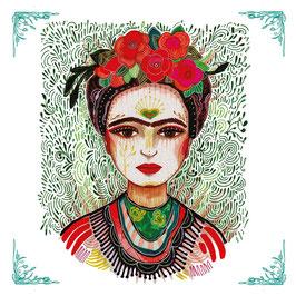 "Serviettenset ""Frida - Memories of the Heart"", große Papierservietten"