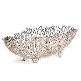 Coral Boat L poliert - Zinnschale von LOYFAR - die perfekte Geschenkidee