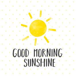 "Serviettenset ""Good Morning Sunshine"", große Papierservietten"