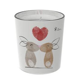 """Osterkerzen Glas Rita - """"die Liebenden"""""""