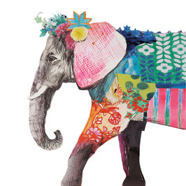 "Serviettenset ""Regalia Elephant"", große Papierservietten"