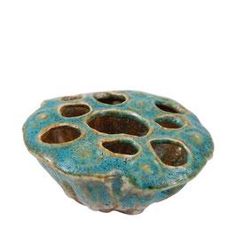Lava Coral small - Blumenvase aus Keramik - von Miljögarden