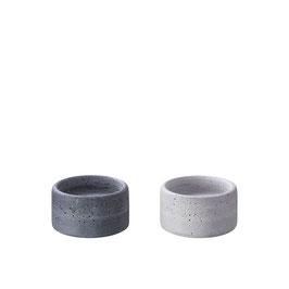 Kerzenteller OLE klein, grau oder anthrazit,  von Engels Kerzen
