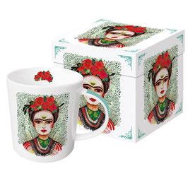 """Trend Mug und Geschenkebox """"Frida - Memories of the Heart"""""""
