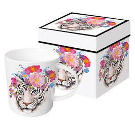 """Trend Mug und Geschenkebox """"Flora Tiger"""""""