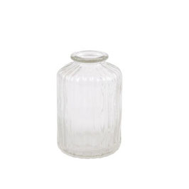 "Mini Vase ""Straight"" - klares Glas - von Miljögarden"