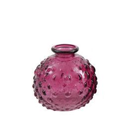 """Mini Vase """"Spot"""" - Farbe Beere - von Miljögarden"""