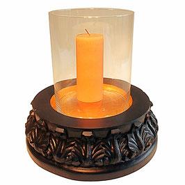 Kerzenständer CHAN 8 mit Glaszylinder