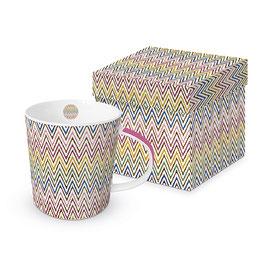 """Trend Mug und Geschenkebox """"Zic Zac Multicolor"""""""