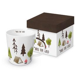 """Trend Mug und Geschenkebox """"Into the Wild"""""""