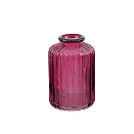 """Mini Vase """"Straight"""" - Farbe Beere - von Miljögarden"""