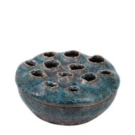 Trypo Coral blue small - Blumenvase aus Keramik - von Miljögarden